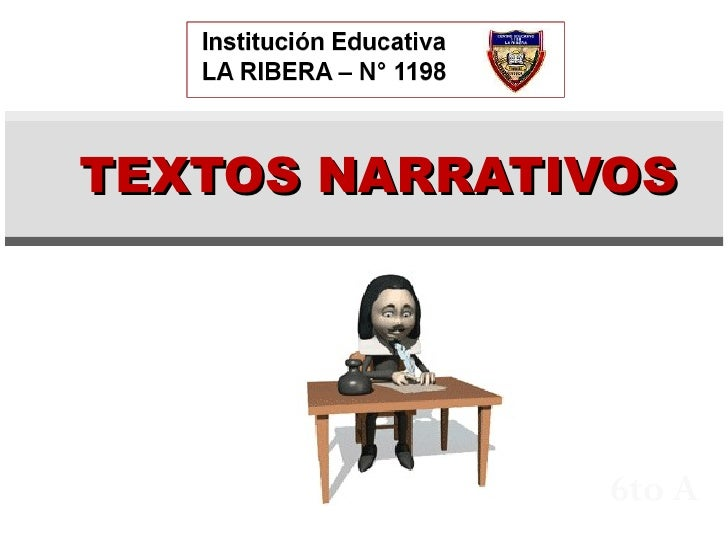 6to A TEXTOS NARRATIVOS