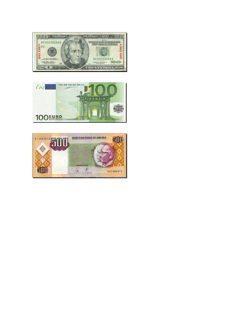 BANCO PRIVADO ATLÂNTICO     DETECÇÃO DE NOTAS FALSAS    • Dólar   • Euro   • Kwanza     1- INTRODUÇÃO