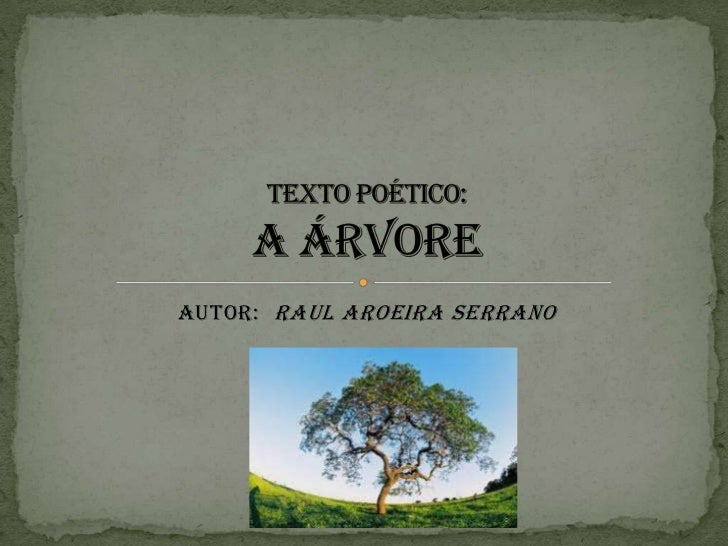 Autor: Raul Aroeira Serrano