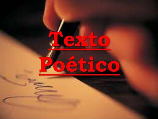 Texto Poético