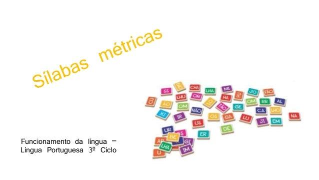 Funcionamento da língua – Língua Portuguesa 3º Ciclo