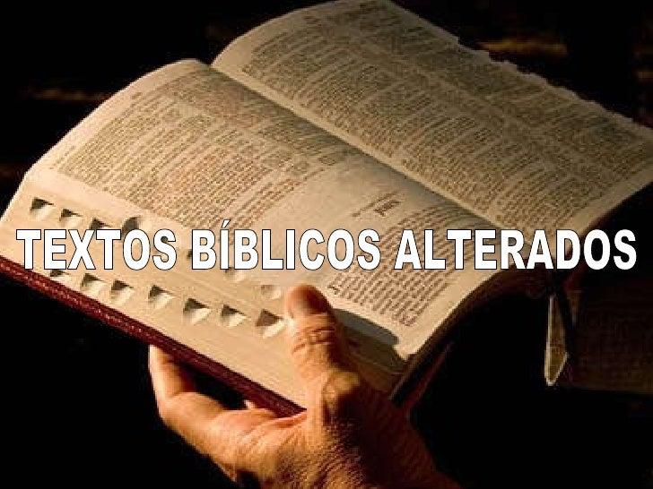 Resultado de imagem para biblias com textos corrompidas