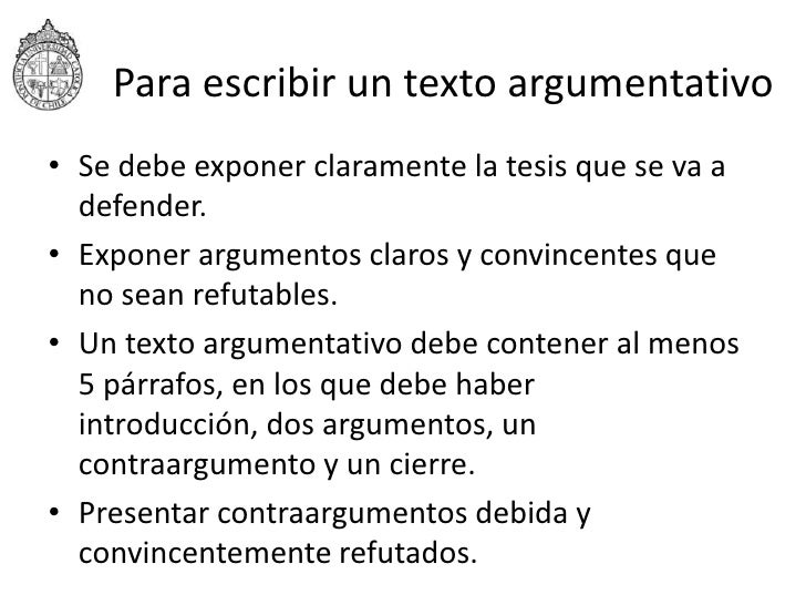 Textos arg. Slide 2