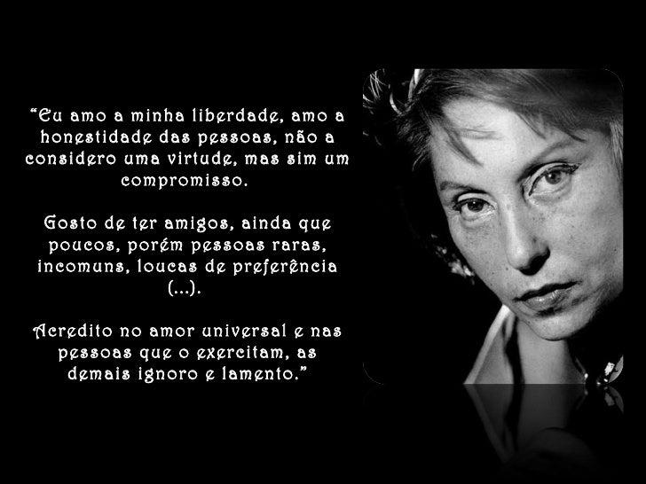 Textos De Clarice Lispector By Fatinha