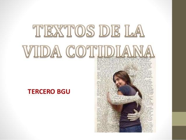 TERCERO BGU