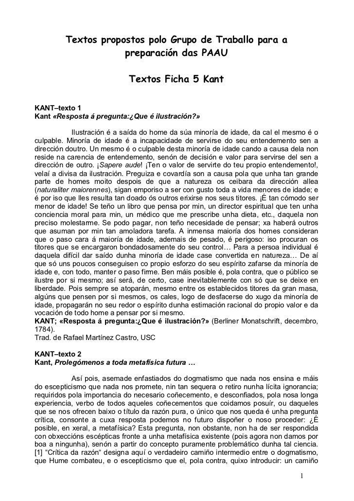 Textos propostos polo Grupo de Traballo para a                     preparación das PAAU                              Texto...