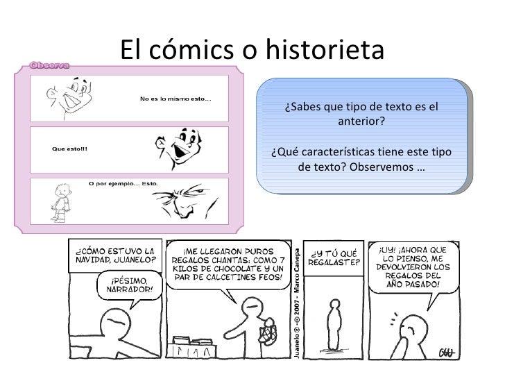 Textos narrativos comic Slide 2