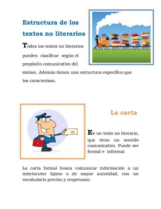 Estructura De Los Textos No Literarios