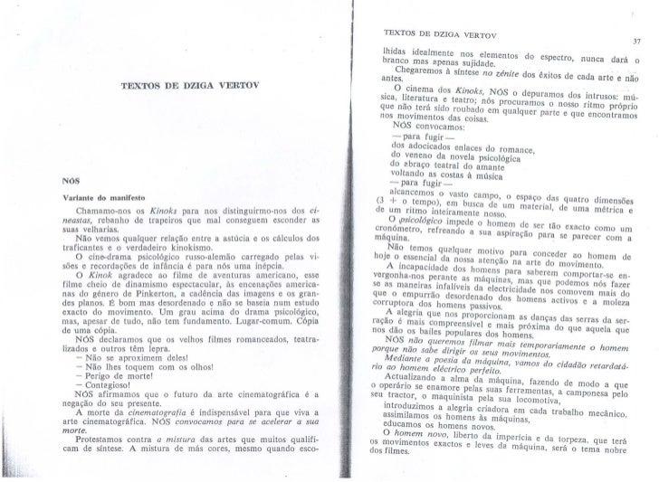 Textos de Dziga Vertov