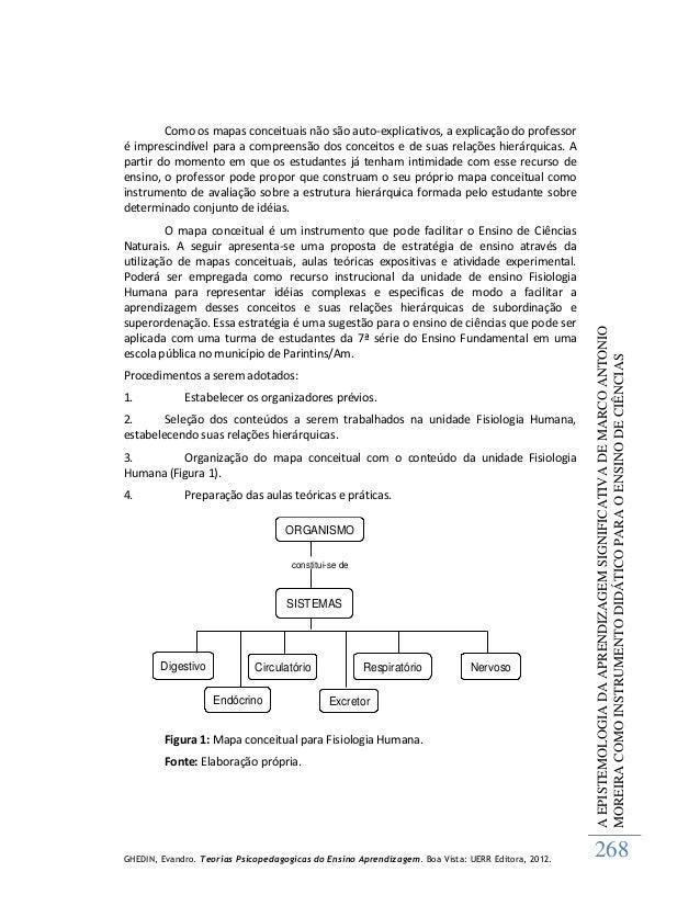 Teorias Psicopedagógicas do Ensino Aprendizagem