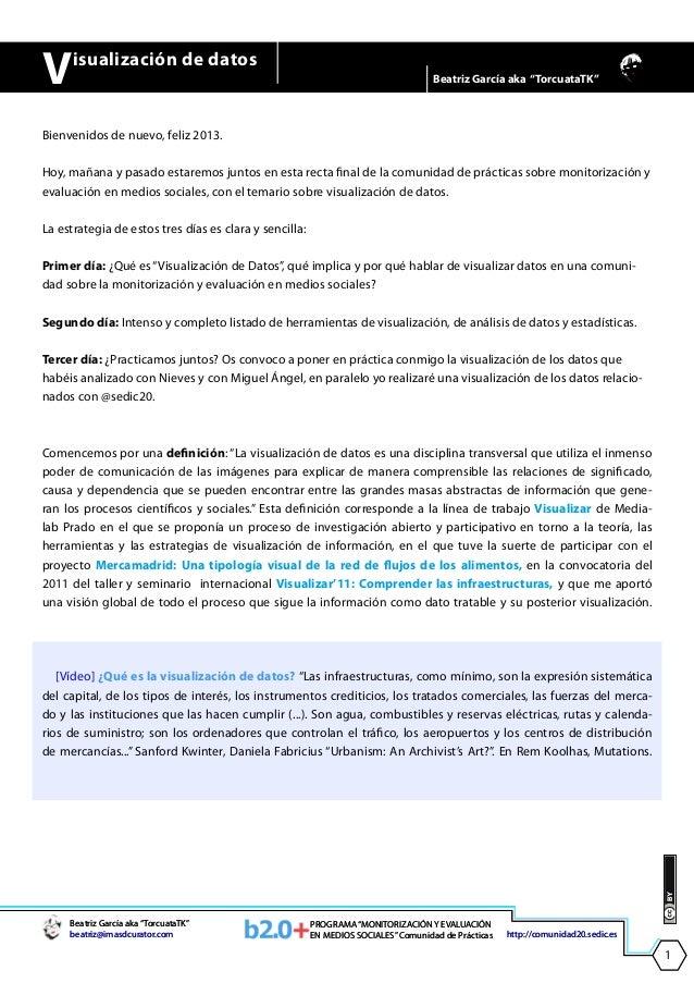 V     isualización de datos                                                                                    Beatriz Gar...