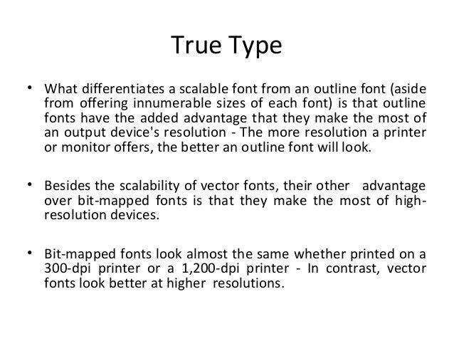 Text-Elements of multimedia