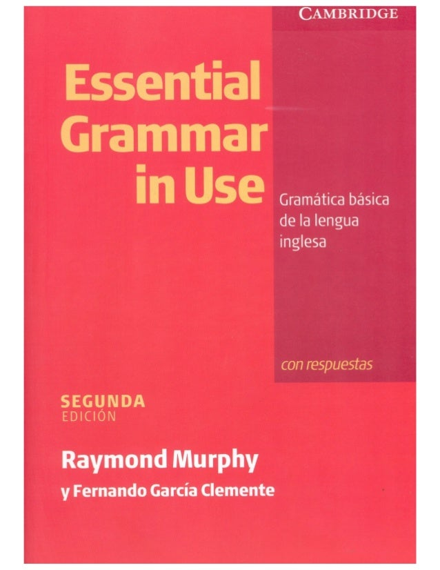 Essential Grammar In Use First Edition