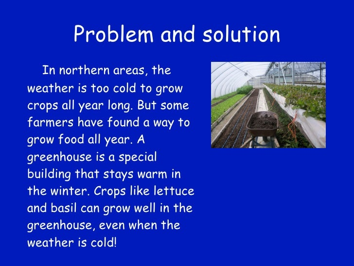 problem and solution paragraph