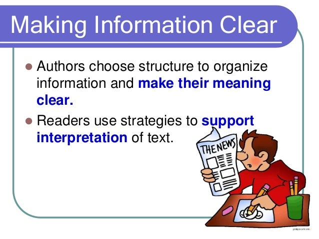Analyzing Text Structures