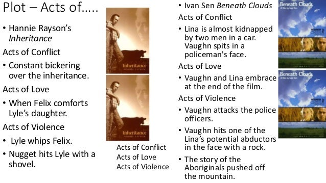 comparing hannie rayson s inheritance ivan sen s beneath clouds  violence and barriers 7