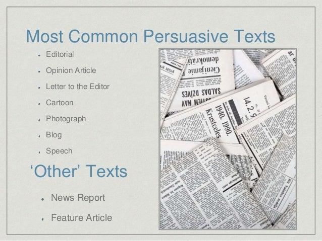 Language Analysis: Text Types