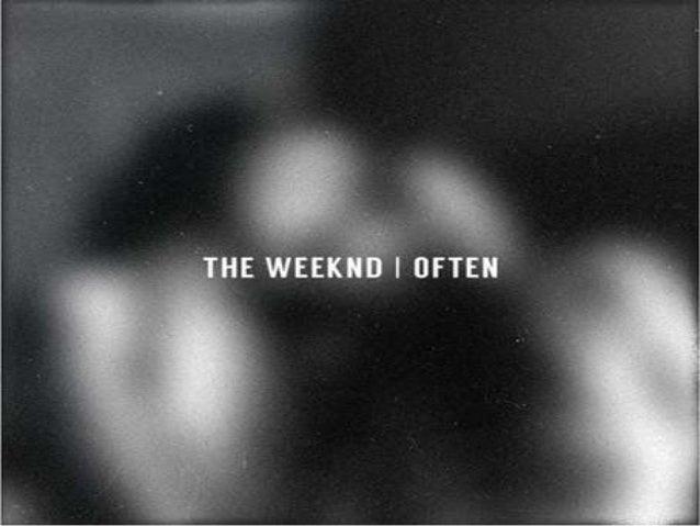 The Weeknd Lyrics Often