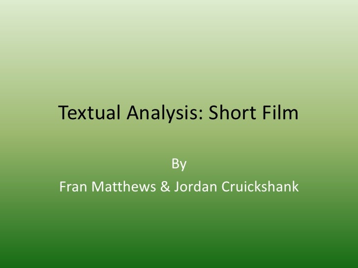 perform a close textual analysis of Teaching through close reading: poetry and fiction when we do close reading, we go through a text of it and then to translate that analysis into close.
