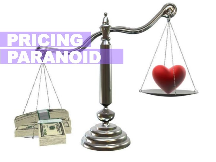 PRICING<br />PARANOID<br />
