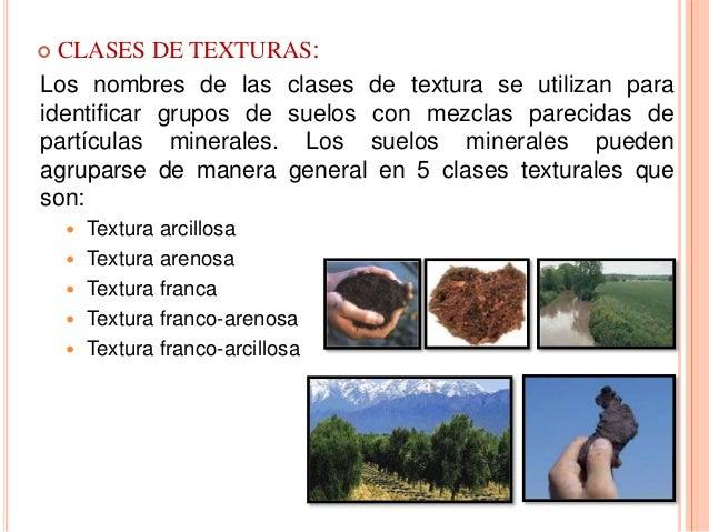 Textura Y Estructura Del Suelo
