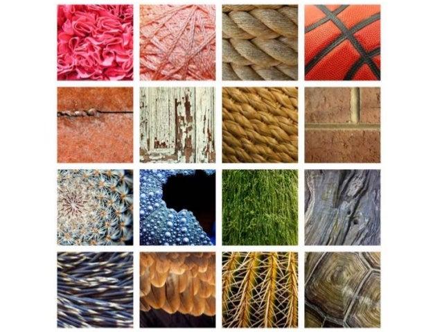 Natural and artificial textures Natural texture Artificial texture; 7.  Tactile and Visual ...