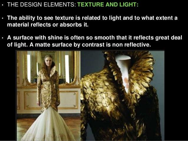 Texture Fashion Design Element