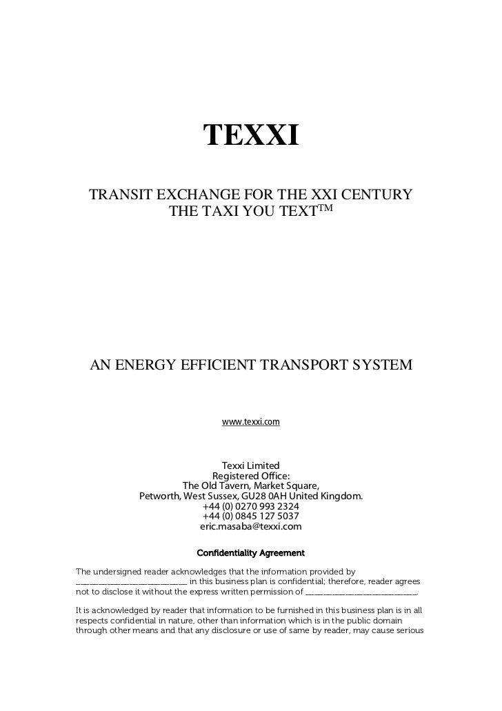 business plan for transport and logistics