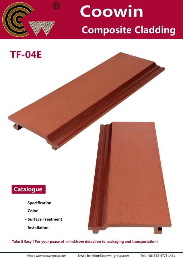 TF-04E(140x21mm) outdoor wpc wall cladding