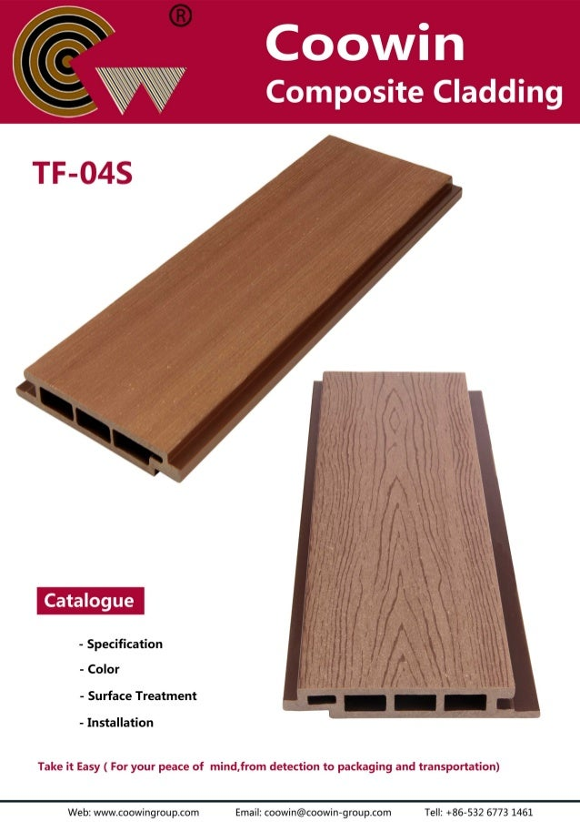 TF-04S(150x21mm) outdoor wood plastic composite cladding