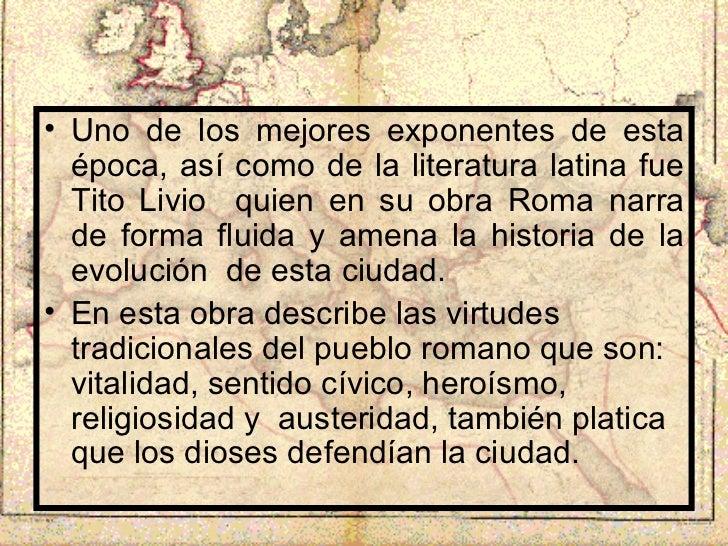 epocas de la literatura latina - photo#9