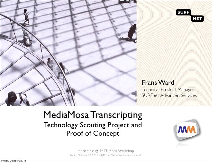 Frans Ward                                                                                              Technical Product ...