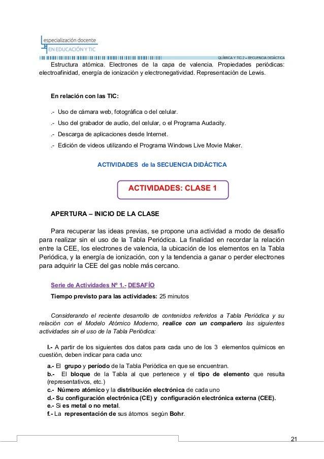 Uniones Químicas: Propuesta de Enseñanza