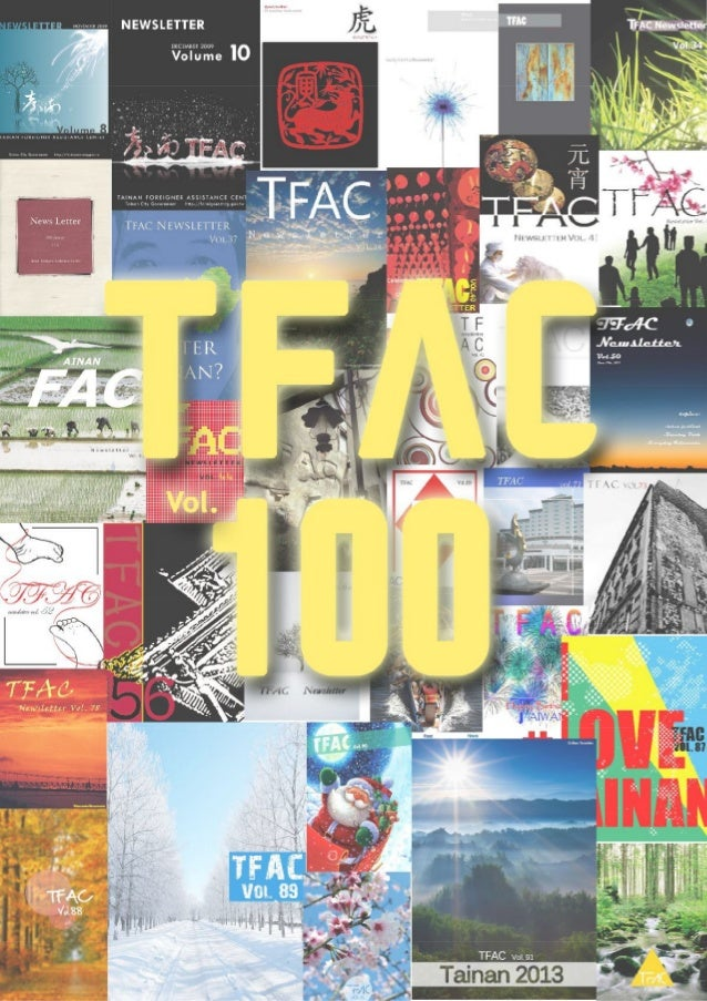 Tfac newsletter vol100