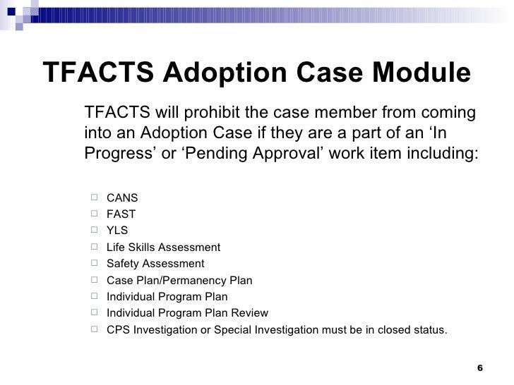 Case brief on adoption case