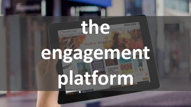 the engagement platform