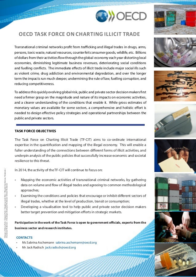 CONTACTS • Ms Sabrina Aschemann  sabrina.aschemann@oecd.org • Mr Jack Radisch  jack.radisch@oecd.org OECD TASK FORCE ON ...