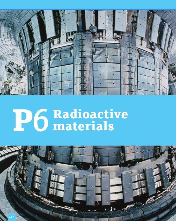 P6   Radioactive      materials254