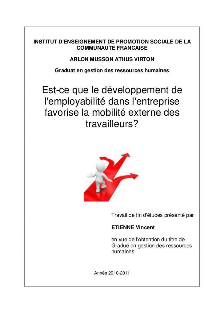 INSTITUT DENSEIGNEMENT DE PROMOTION SOCIALE DE LA               COMMUNAUTE FRANCAISE           ARLON MUSSON ATHUS VIRTON  ...