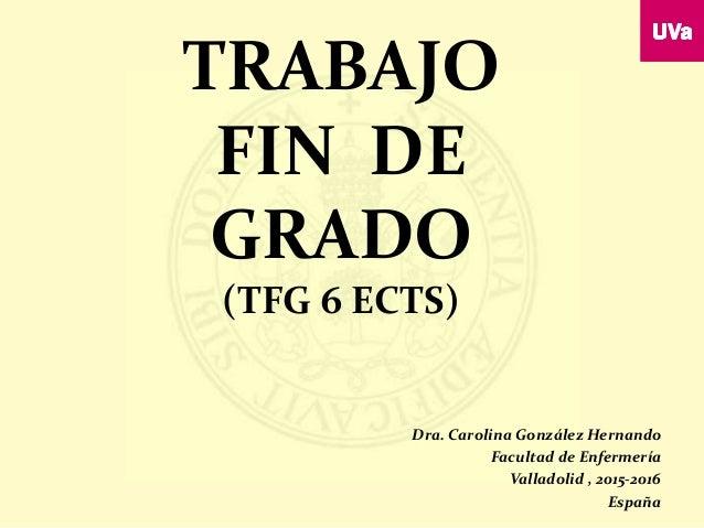 Trabajo Fin de Grado TFG