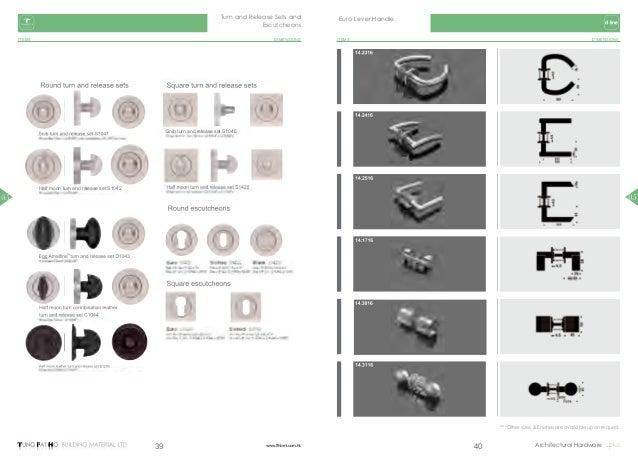 TFH Catalogue Ironmongery catalogues 1718