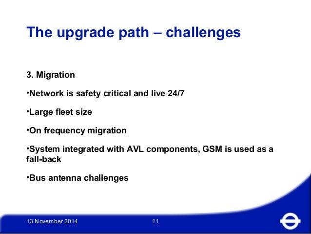 UK Spectrum Policy Forum - David Fell, Transport for London - London …
