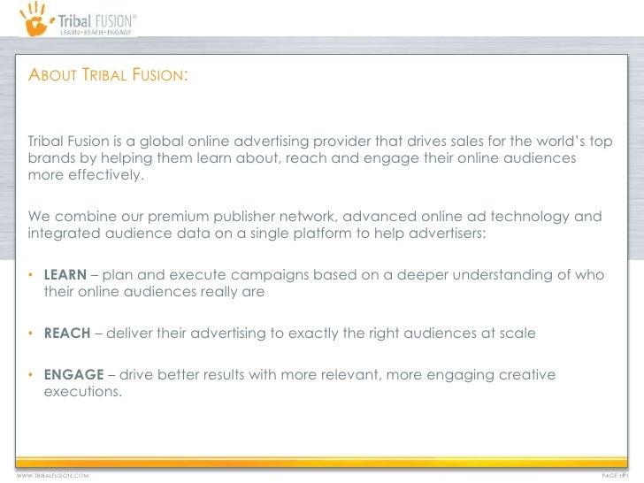 Tribal Fusion- Media Deck 2012 Slide 2
