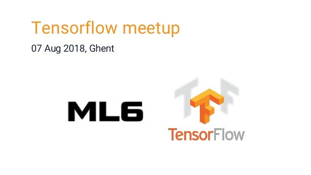 running Tensorflow in Production