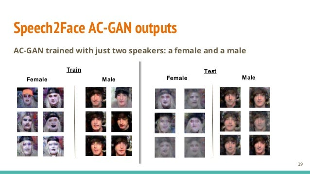 Speech Conditioned Face Generation with Deep Adversarial