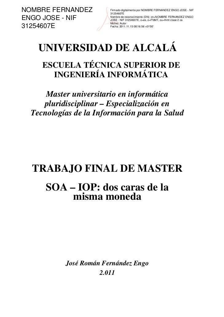 NOMBRE FERNANDEZ        Firmado digitalmente por NOMBRE FERNANDEZ ENGO JOSE - NIF                        31254607EENGO JOS...