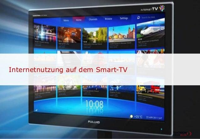 Internetnutzung auf dem Smart-TV