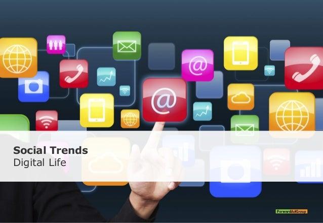 Social Trends Digital Life