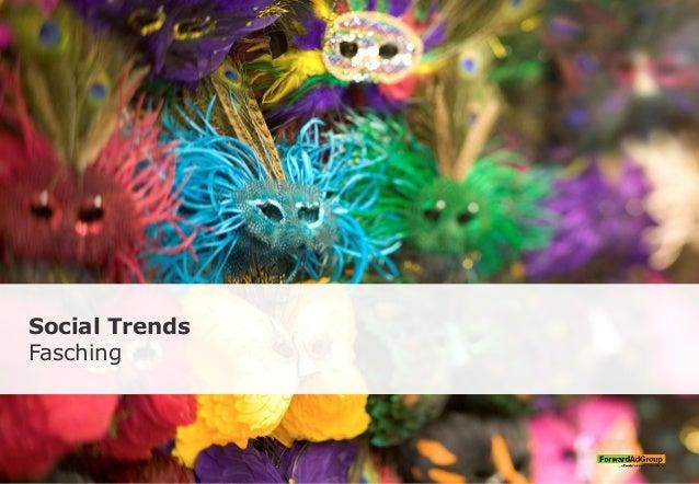 Social Trends Fasching