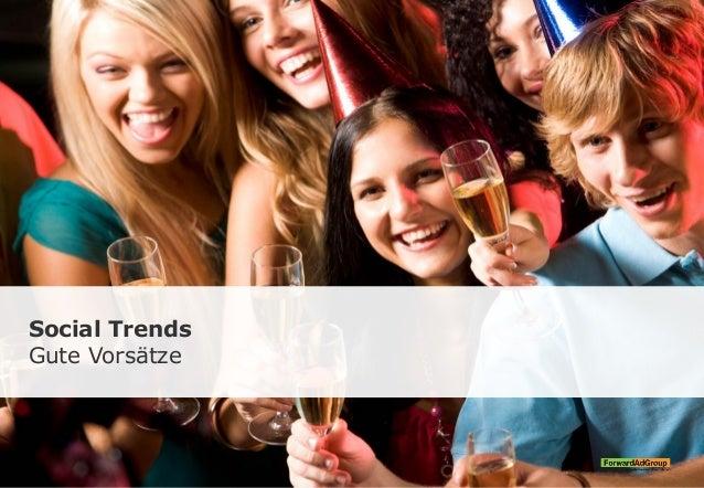 Social Trends Gute Vorsätze